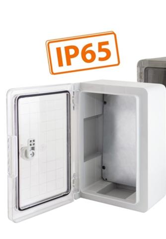 Бокс пластиковый ЩМП-0-2, ABS, IP65, -45 до +75 С, навесной, (350x250x150) TDM