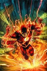 Постер Арт Флэш Супергерой — Poster Art The Flash Super Heroes