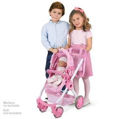 DeCuevas Коляска-трансформер 3 в 1 для куклы серии