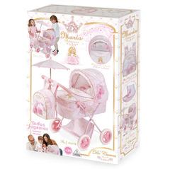 DeCuevas Коляска для куклы с рюкзаком и зонтиком серии