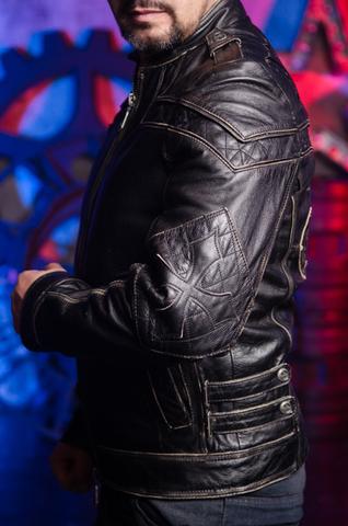 Куртка кожаная Affliction. Редкая модель