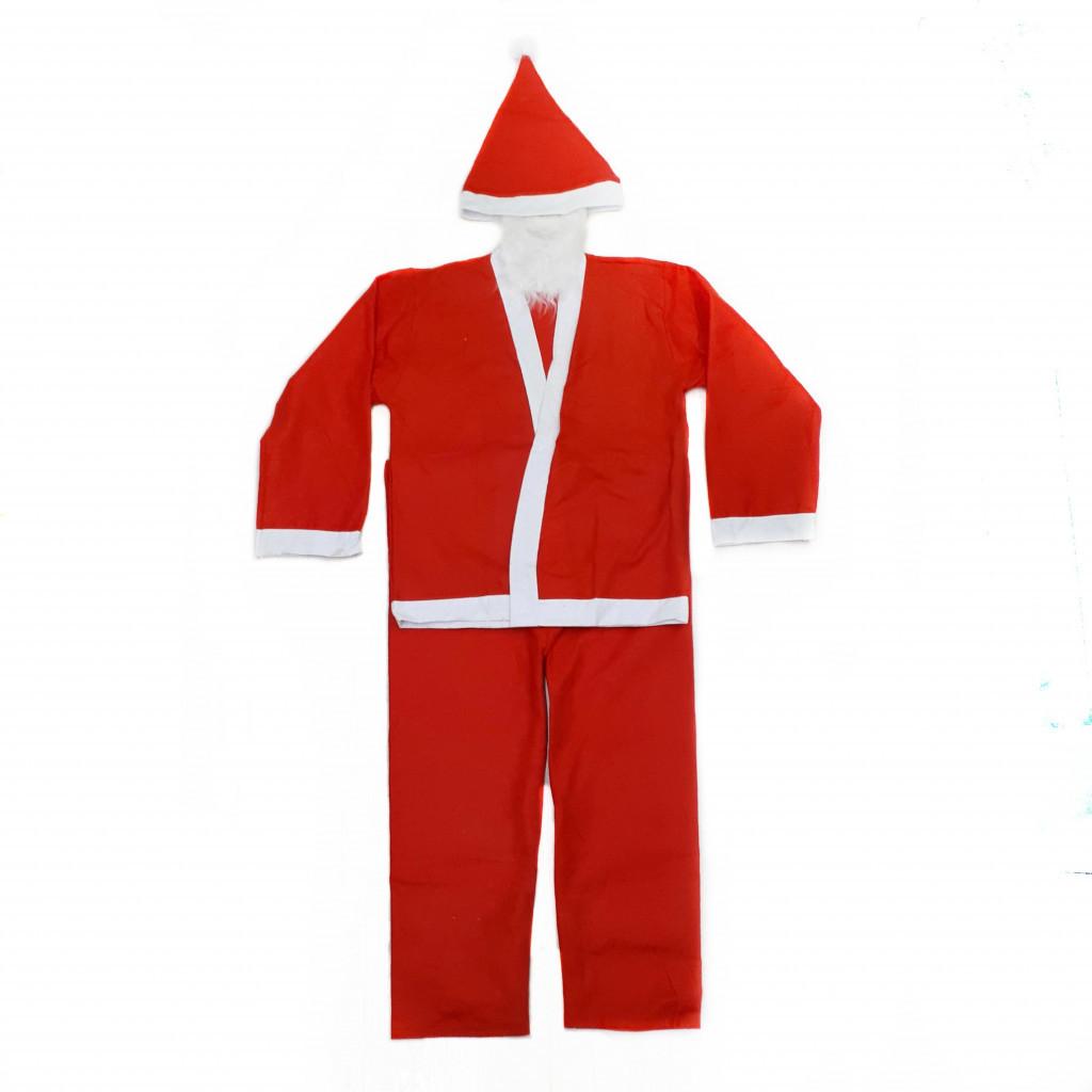 Костюм Санта Клауса с длинной шубой