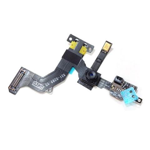 Передняя камера, шлейф сенсора (датчика), слуховой динамик iPhone 5