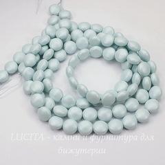 5860 Хрустальный жемчуг Сваровски Crystal Pastel Blue круглый плоский 10 мм