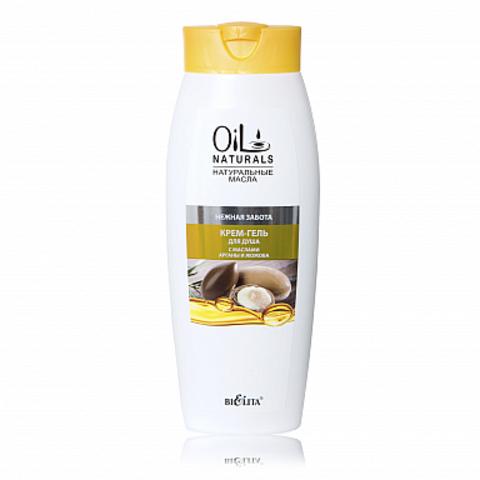 Белита Oil Naturals Крем-гель для душа с маслами арганы и жожоба Нежная забота 430мл
