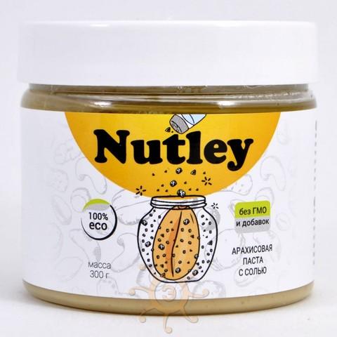 Паста арахисовая с морской солью Nutley, 300г