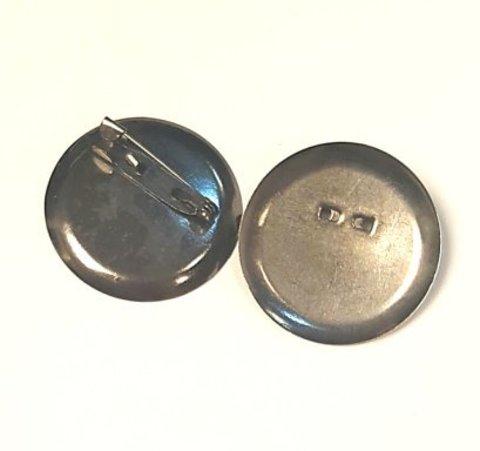 Основа для броши - диск 36 мм темный