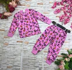 6D-1 пижама детская Бегемотик, ассортимент