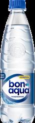 Вода Bonaqua чистая газированная питьевая 0,5л