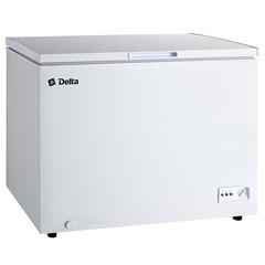 Ларь морозильный 252 л низкотемпературный DELTA D-С252НК2, класс А+, 2 корзины