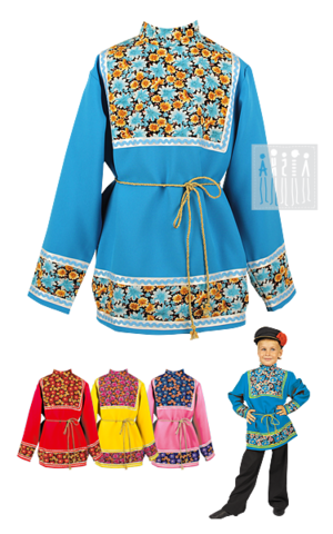 Фото Коляда - рубаха русская рисунок Мужские народные рубахи