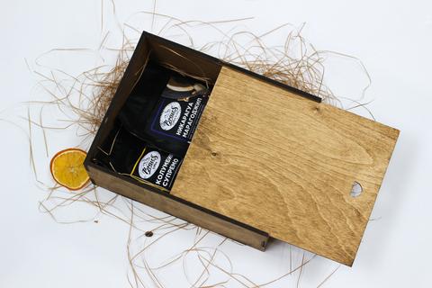 Малый кофейный набор №3 в деревянном коробе