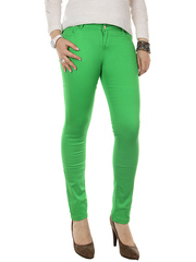 708-3 джинсы женские, зеленые