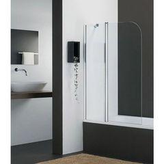 Шторка на борт ванны с распашной дверью левая 110х142,5 см Provex Vario 2001 KV 28 GL L+ фото