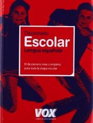 Diccionario Escolar de la Lengua Espanola