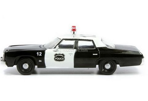 Chevrolet Bel Air Police of Norwich USA 1:43 DeAgostini World's Police Car #25