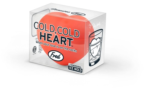 Heart ice mold
