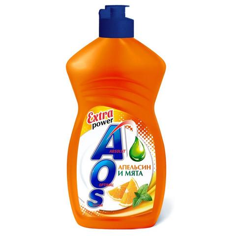 Средство для мытья посуды AOS 450г