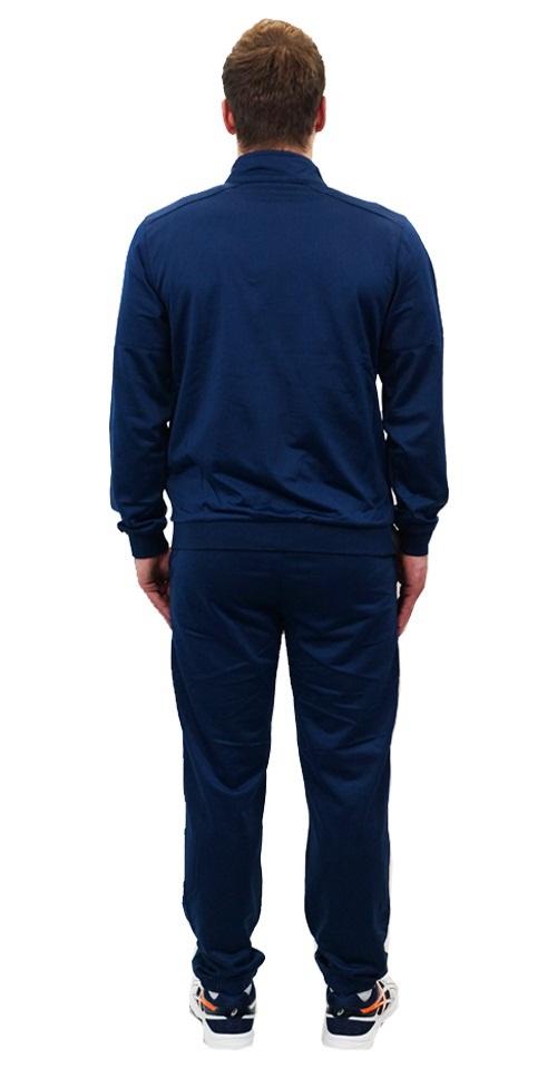 Мужской спортивный костюм Asics Tracksuit Polywarp (130824 8052) синий