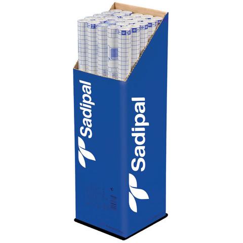 Пленка Sadipal прозрачная из целлюлозы 30г/м.кв 50*65см прозрачный 12 листов в упаковке