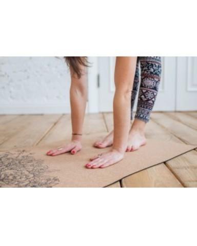 Пробковый коврик для йоги Leo 183*61*0,3 см