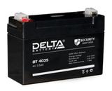 Аккумулятор Delta DT 4035 ( 4V 3,5Ah / 4В 3,5Ач ) - фотография