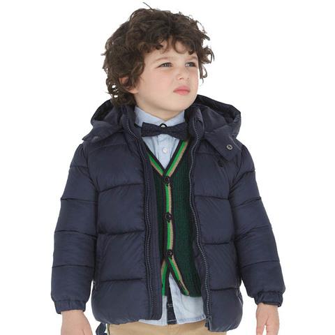 Куртка Mayoral Темно-синяя Еврозима