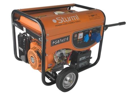 Бензогенератор Sturm PG 87651E  6.5кВт+эл.стартер