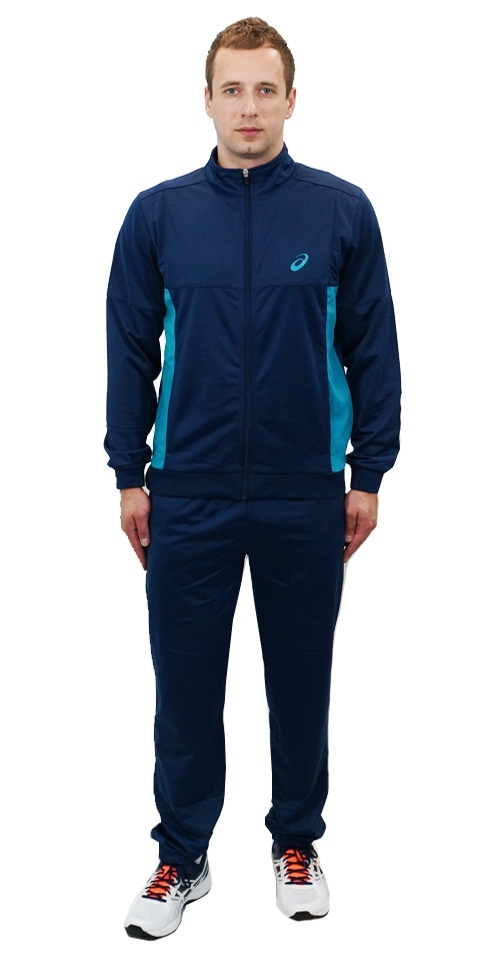 Мужской спортивный костюм Asics Tracksuit Polywarp (130824 8052) фото