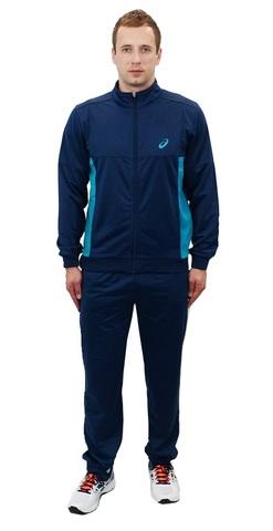ASICS TRACKSUIT POLYWARP мужской спортивный костюм синий