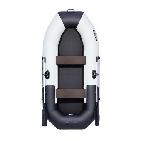 Лодка ПВХ Таймень NX 270 комби светло-серый/черный