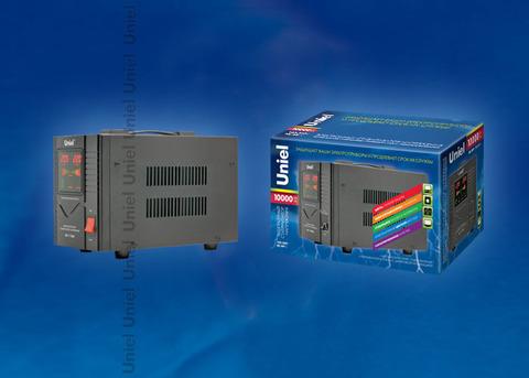 RS-1/10000 Стабилизатор «Uniel» релейный однофазный, 10,0 кВА.