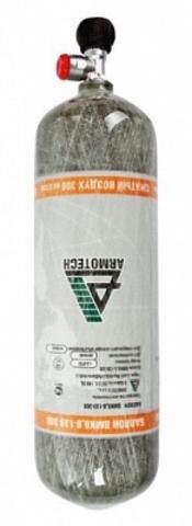 БАЛЛОН КОМПОЗИТНЫЙ ARMOTECH 6.8л с вент. и манометром