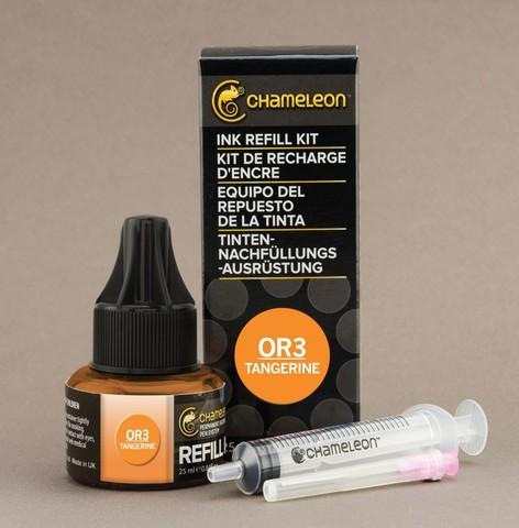 Чернила для маркеров Chameleon мандариновые OR3, 25 мл