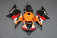 Комплект пластика для мотоцикла Honda CBR 600 RR 09-12 Repsol оранжевый