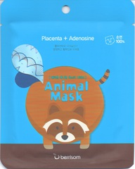 Berrisom Animal Маска таканевая с экстрактом плаценты Animal mask series - Raccoon