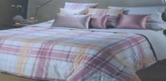 Постельное белье 1.5 спальное Caleffi Finlandia коричневое