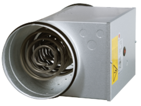 Канальный нагреватель Systemair CB 125-1,2 230V/1 Duct heater для круглых каналов