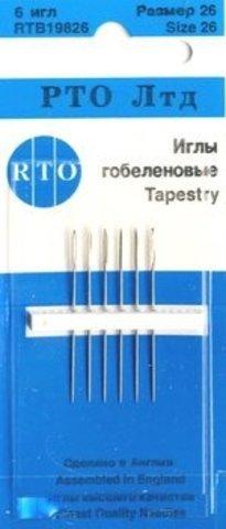 ИГЛЫ ГОБЕЛЕНОВЫЕ-RTB 19826-RTO