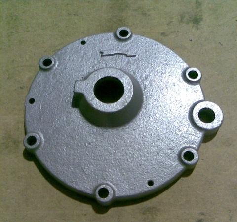 12608 Крышка передняя вакуумного насоса SACCO 600-1000-1600