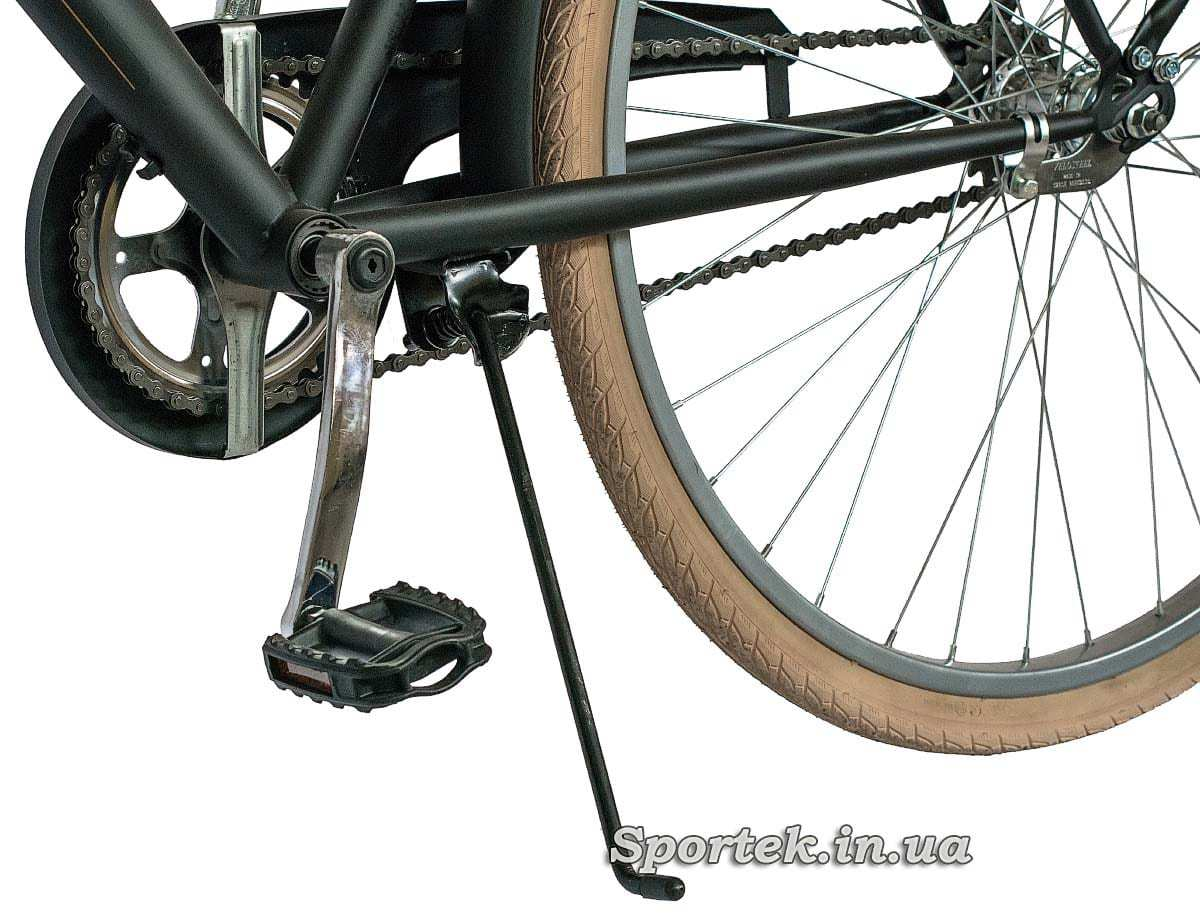 Подножка городского мужского велосипеда Dorozhnik Comfort Male 2016 (Дорожник комфорт)