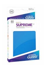 Ultimate Guard - Ярко-синие матовые протекторы 80 штук в коробочке