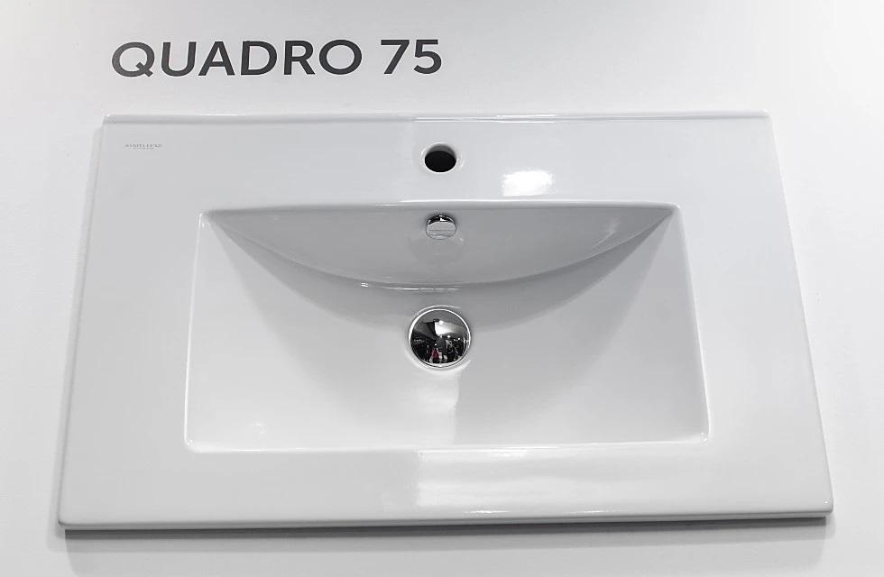Раковина Sanita Luxe Quadro 75 см