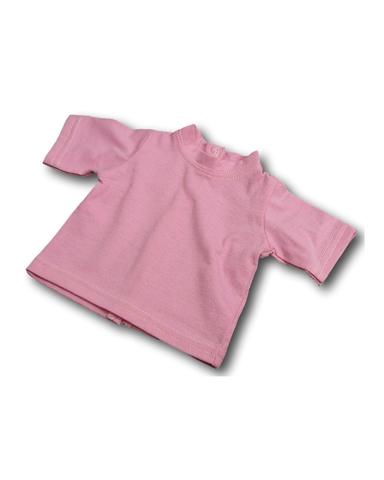 Футболка - Розовый. Одежда для кукол, пупсов и мягких игрушек.