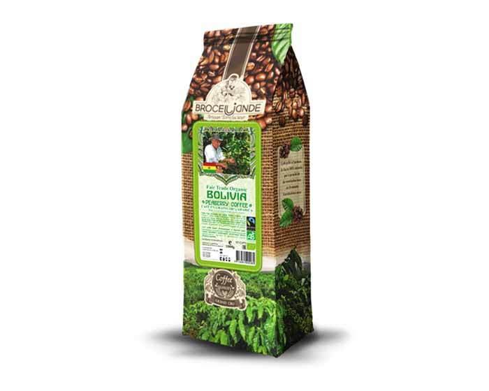 Кофе в зернах Broceliande Bolivia Organic Coffee