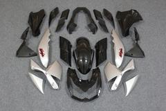 Комплект пластика для мотоцикла Kawasaki Z1000 10-13 Черно-серый заводской