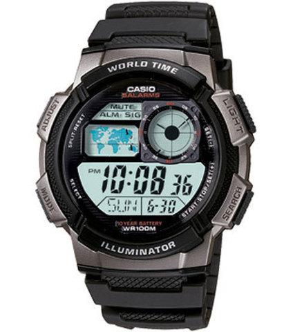 Купить Наручные часы Casio AE-1000W-1B по доступной цене