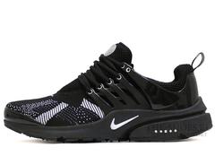 Кроссовки Мужские Nike Air Presto Black White