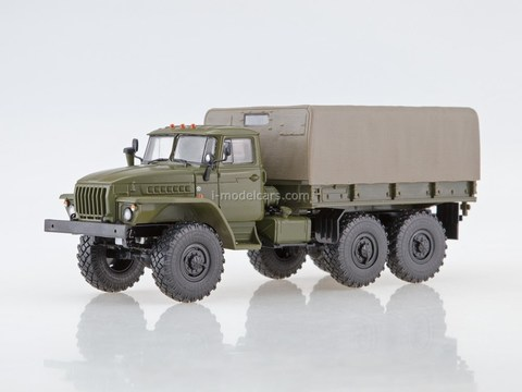 Ural-4320 6x6 Army truck with awning khaki 1:43 Our Trucks #1 (limited edition)