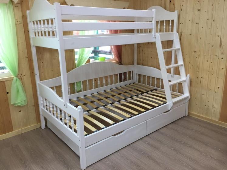 Кровать двухъярусная Эллада+